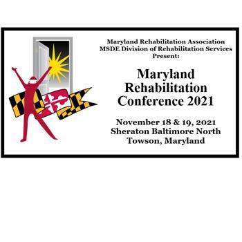 Maryland Rehabilitation Conference logo.