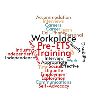 Training Work Workplace Pre-ETS Accommodation Careers