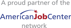 A proud partner of the American Job Center network.