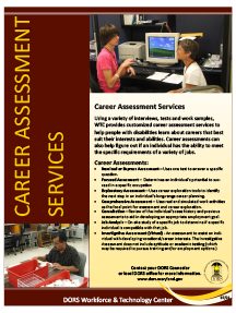 Career Assessment Handout PDF