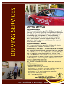 Driver and vehicle services handout