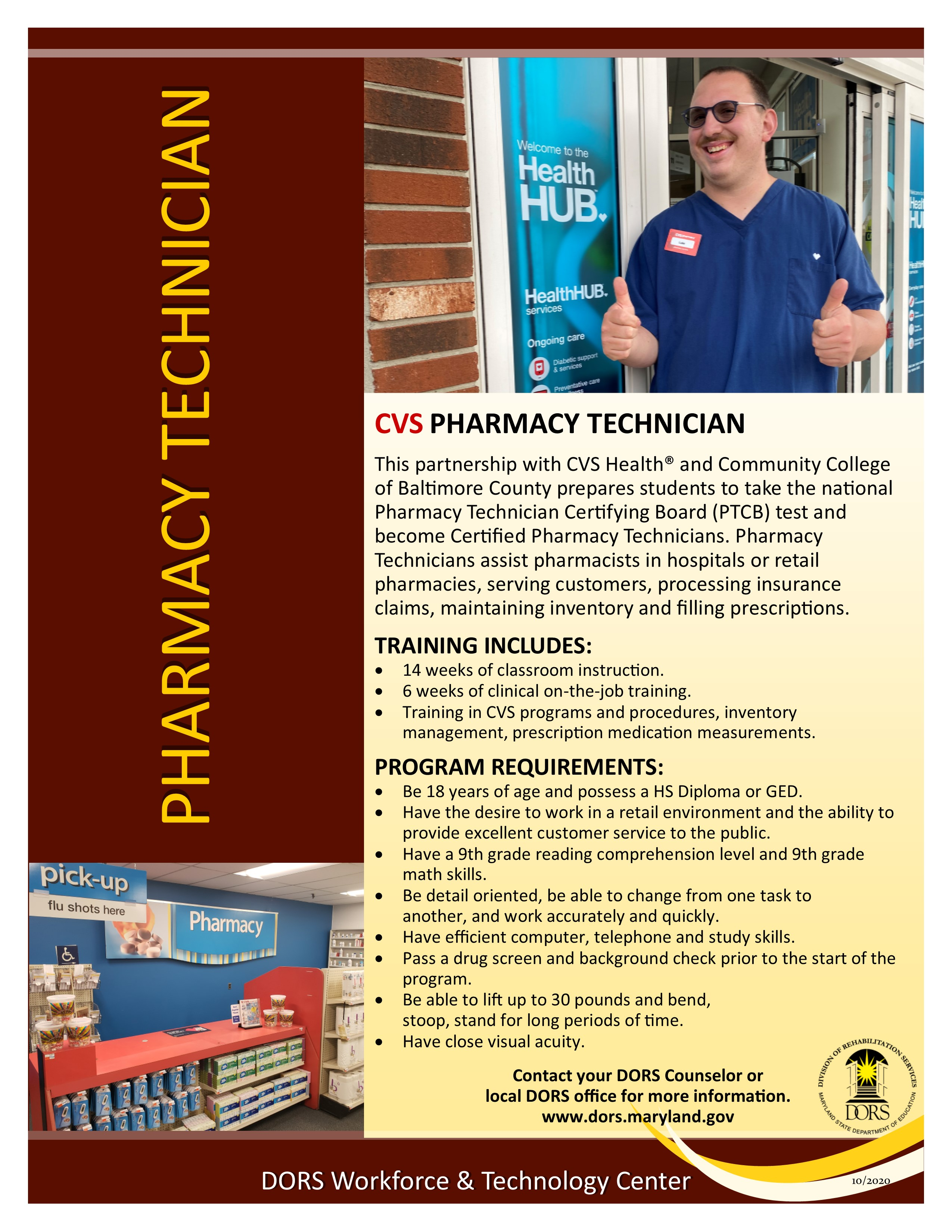 Pharmacy Tech handout.