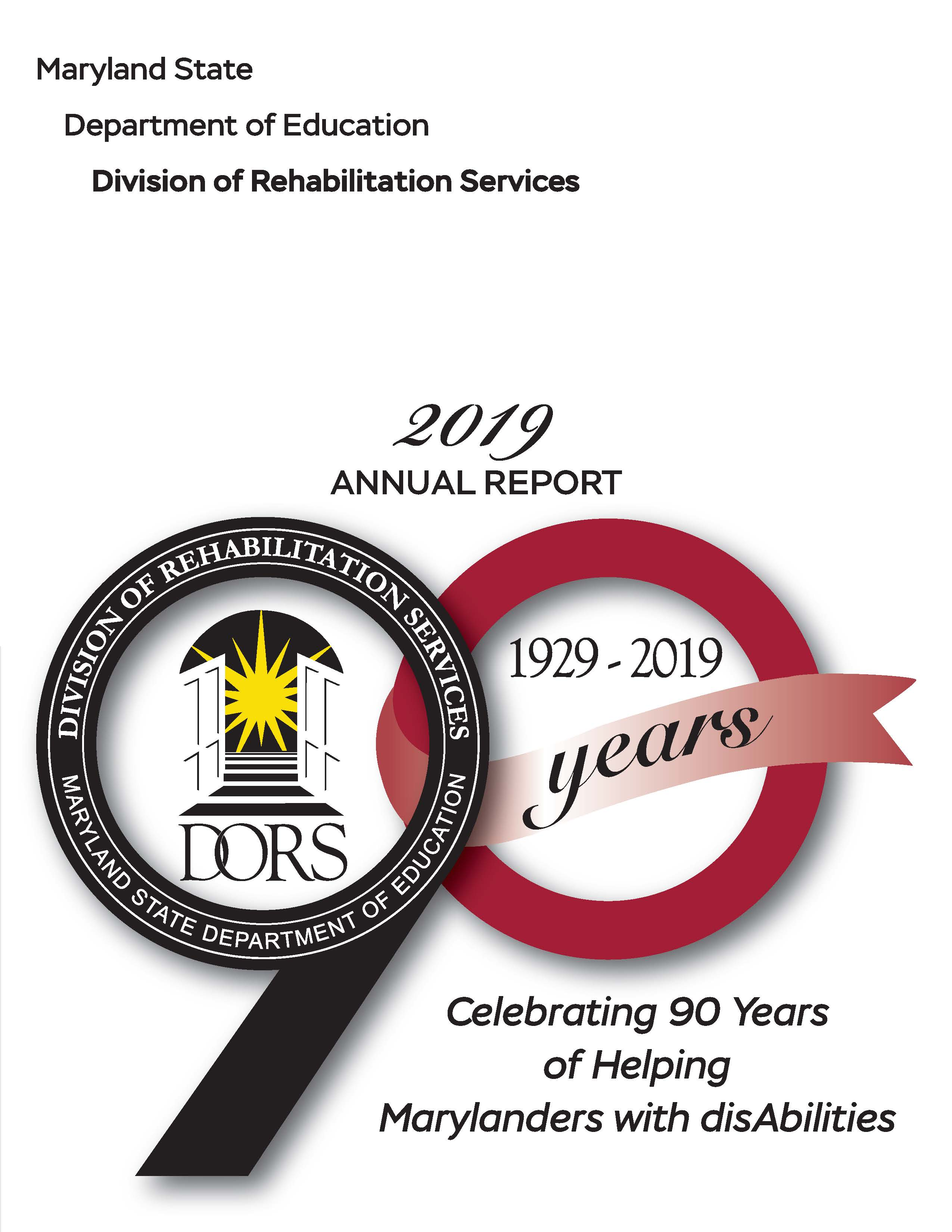 2019 DORS Annual Report
