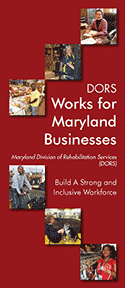 DORS Works for Maryland Businesses brochure