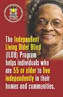 Independent Living Older Blind brochure